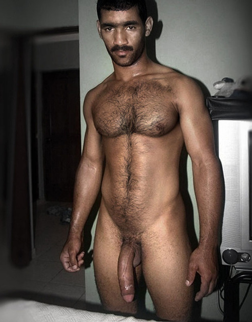 Nude arab gay man